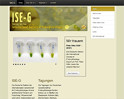 Website ISE Germany